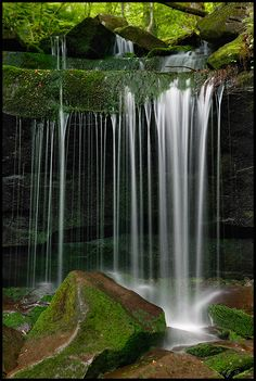 Waterfall at Great Smoky Mountains National Park - Tennessee