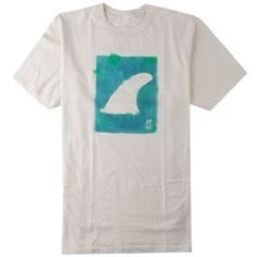 Rip Curl Fins Out Organic Tee in Natural