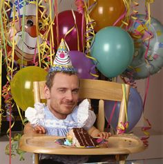 lol. Happy Birthday, Michael Fassbender!