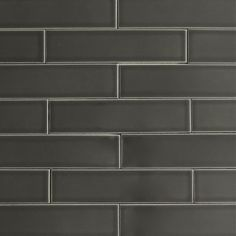 Clayhaus 2x8 Carbon Ceramic Tile - for the hearth