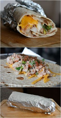 Pinto Bean Burritos - Make ahead, heat up later! Perfect for #meatlessmonday or any day of the week.