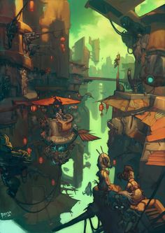 The Art of Sergi Brosa - Daily Art