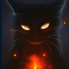 15 Ideas For Cats Warrior Fantasy Cute Animal Drawings, Cute Drawings, Fantasy Creatures, Mythical Creatures, Anime Animals, Cute Animals, Warrior Cats Art, Halloween Cat, Halloween Costumes