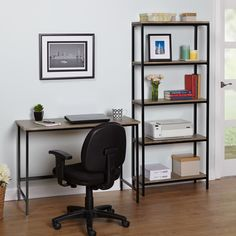 Organize your home and create a warm inviting look with the Piazza metal bookshelf by Simple Living. A natural finish gives this attractive shelf a reclaimed charm that looks wonderful in urban, rusti