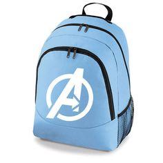 AVENGERS LOGO MARVEL SUPERHERO - BACKPACK SCHOOL COLLEGE SPORT BAG on eBay!