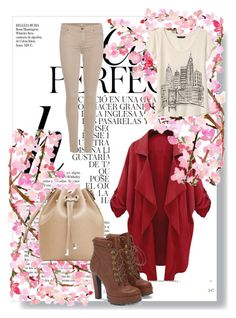 сет 2 by maele-i on Polyvore featuring мода, Banana Republic, 7 For All Mankind, JustFab, MANGO and Whiteley