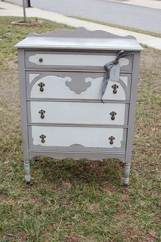 repainted vintage furniture