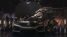 The 2017 Civic Hatchback gets turbocharged https://youtu.be/aEAfaErMFjo