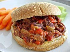 Low Fat Vegan Chef's Meatless Slow Cooker Sloppy Joes (2)
