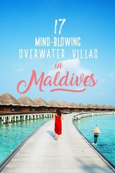 17 Mind-Blowing Maldives Hotels You Would Kill To Visit 17 of the prettiest, most gorgeous overwater villas in Maldives that you will absolutely love. Book your honeymoon resort now! Best Hotels In Maldives, Visit Maldives, Maldives Travel, Maldives Honeymoon, Maldives Villas, Maldives Resort, The Maldives, Maldives Accommodation, Maldives Trip