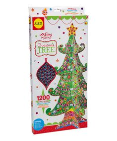 Look what I found on #zulily! Christmas Tree Bling Along Kit #zulilyfinds
