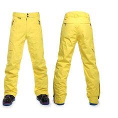 Saenshing Ski Pants Men Thicken Warm Waterproof Skis Trousers Breathable  Snow Skiing Pants Sport Snowboard Pant d3dd02794