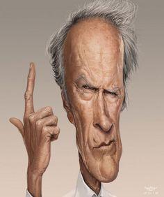 Clint Eastwood by Yoann LORI
