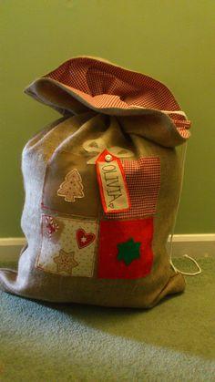 Hessian Christmas Sack