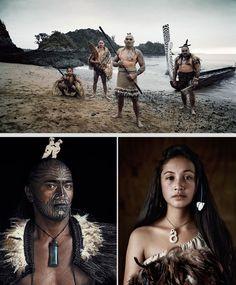The most current reliable evidence strongly indicates that initial settlement of New Zealand by the Maori occurred around 1280 CE at the end of the medieval warm period. Photo by Jimmy Nelson Maori, New Zealand