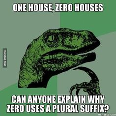 Is 0 plural?