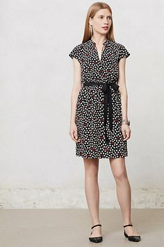 Odilia Shirtdress #anthropologie - I might be able to sew something like this