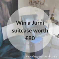 Win a Jurni suitcase worth £80