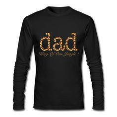 Dad King Of Our Jungle ! Men's Long Sleeve T-Shirt Funny T Shirts,... (36 AUD) ❤ liked on Polyvore featuring men's fashion, men's clothing, men's shirts, men's t-shirts, mens long sleeve shirts, mens longsleeve shirts, mens t shirts and mens long sleeve t shirts