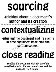 Thinking Like a Historian Word Wall product from Dr-Noahs-Shop on TeachersNotebook.com