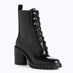 9e6283210 MARC JACOBS Ryder Lace Up Ankle Boot.  marcjacobs  shoes   Leather High  Heels