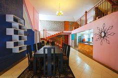 #interior #decor #hallway#pink #blue #home # ElleInteriorDesigners #interiordesign