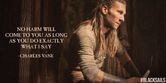 Black Sails - Captain Charles Vane (Zach McGowan) - oh my god yeah. He's nice to look at but his voice is even better.