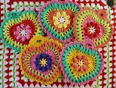 crochet easter egg potholder | Grandma's Heart Potholder: free pattern