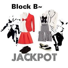 Block B Jackpot inspired outfit