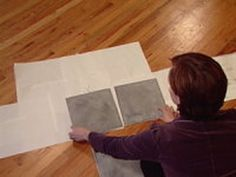 An Easy Backsplash Made With Vinyl Tile : How-To : DIY Network