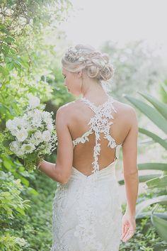 delicate claire pettibone wedding dress