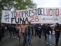 #YoNoprestoelvoto en marcha CONFECH 11/abril/2013