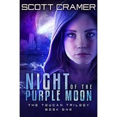 Amazon Bestselling Author  Thirteen-year-old Abby Leigh yearns for her family to be reunited – in Cambridge, not Castine Island where she feels like an outsider. Her younger brother, Jordan, is having no problem fitting in and making friends.  Everyone on Castine Island is anxiously awaiting the arrival of the purple moon, caused by a comet entering the Earth's atmosphere. Scientists expected this thrilling phenomenon and food companies are churning out purple-colored products in celebration…