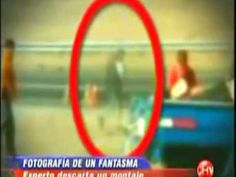 Car crash victim`s ghost looking down on his body