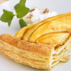 Bananas foster puff pastry. Ohhh cheat meal!