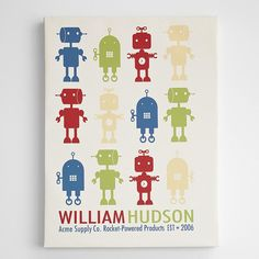 Robot images for boys room