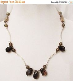 Hey, I found this really awesome Etsy listing at https://www.etsy.com/listing/385937698/sale-smoky-quartz-jewelry-smokey-quartz