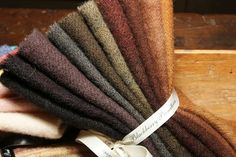 Hand-Dyed Wool Bundles from Blackberry Primitives