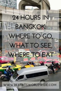 Only 24 hours in Bangkok, Thailand, I show you where to go, what to see and where to eat! Travel in Asia. Thailand Travel Tips, Bangkok Travel, Visit Thailand, Bangkok Thailand, Japan Travel, Koh Tao, China Travel, Travel Information, Culture Travel