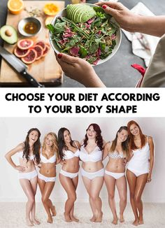 Have you tried all sorts of diets hoping you would lose weight, yet none of them delivered the promised results? Choose Your Diet According To Your Body Shape!