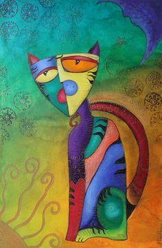 Laura Barbosa Celestial Cat