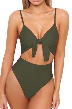 weiß String Badeanzug Gürtel Gr M white thong one piece swimsuit belt