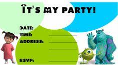 223 Best Monster Birthday Printables Images Free Printables