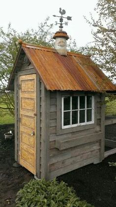 Garden shed ( I have had this vision for my garden shed, mines a little bigger and with a small porch )