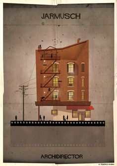 Gallery - ARCHIDIRECTOR: A Fantastical City Inspired by Famous Directors by Federico Babina - 26