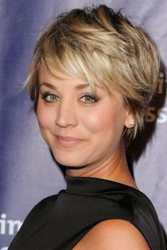 Alluring Short Shaggy Head Hairstyle Shaggy-Pixie-Haircut