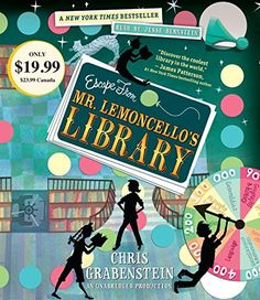 Escape from Mr. Lemoncello's Library by Chris Grabenstein https://www.amazon.com/dp/0147520134/ref=cm_sw_r_pi_dp_x_d6kgyb0MZVXDF