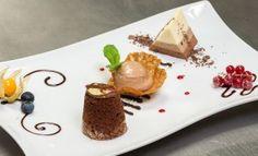 Schokotraum Dessert Restaurant Loystubn - eine der süßen Verführungen zum Valentinstag in der Loystubn der Thermenwelt Hotel Pulverer