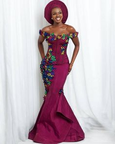 African Evening Dress
