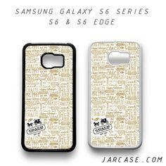 coach Phone case for samsung galaxy S6 & S6 EDGE